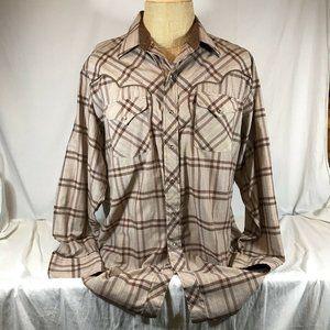 Vintage Panhandle Slim Western Pearl Snap Shirt